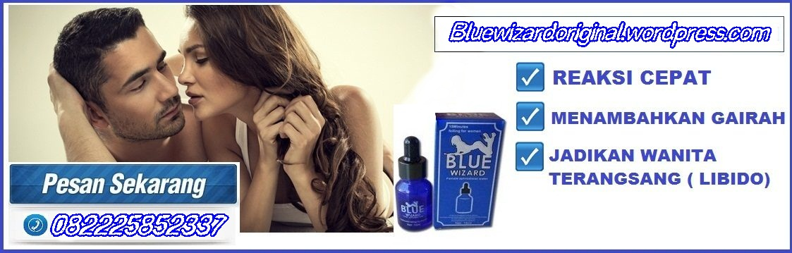 blue wizard kesan blue wizard original asli
